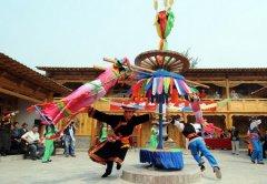 土族的舞蹈