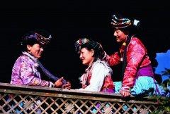 普米族的人口和分布地