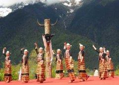 珞巴族的舞蹈