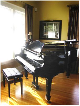 风水学上室内钢琴的摆放方向