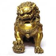 铜狮子摆放的位置讲究