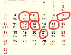 公历2016年1月份适合动土吉日