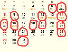 公历2016年5月份适合动土吉日