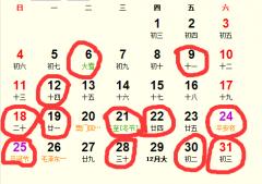 公历2016年12月份适合装修吉日