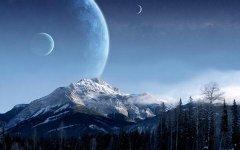 梦见月亮从山上升起来周公解梦,梦见月亮从山上升起来是什么意思